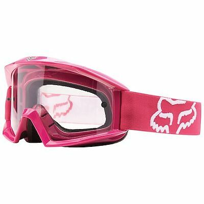 Fox Racing Mx Ladies Adults Main Goggles In Pink Mx Enduro Motocross Atv Offroad