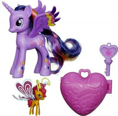 My Little Pony - TWILIGHT SPARKLE & SUNSET BREEZIE + Medaillon, Schlüssel
