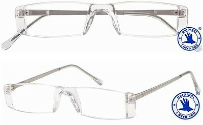 Lesebrille  I NEED YOU CHAMPION in kristall, Stärke +1,00 bis +4,00 Dioptrien, m