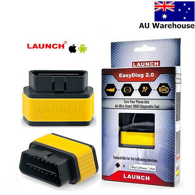 Launch X431 Easydiag 2.0 Bluetooth Scanner Code Reader For IOS Android AU STOCK