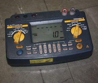 Yokogawa CA71 Multifunction Calibrator HANDY CAL in case with leads