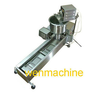 Stainless Steel Donut Maker,automatic commercial electric donut maker 3set Molds