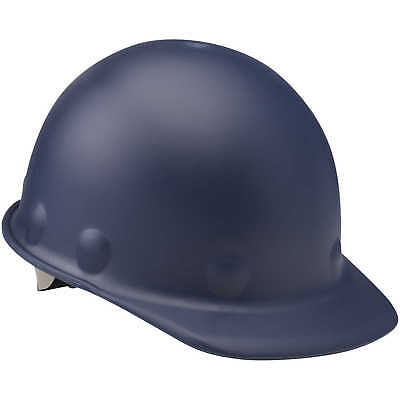 Fibre-Metal Roughneck Cap Style Hard Hat with Swing Strap, Blue