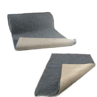 Grey Vet Bedding NON-SLIP ROLL WHELPING FLEECE DOG PUPPY PRO BED
