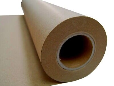 NEW KRAFT BROWN PACKAGING PAPER ROLL 600mm x 50m 80GSM Packing Wrapping Craft