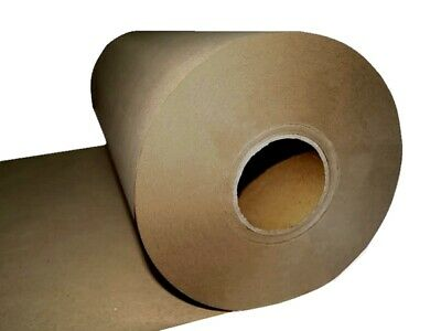 NEW KRAFT BROWN PACKAGING PAPER ROLL 600mm x 300m 80GSM Packing Wrapping Craft