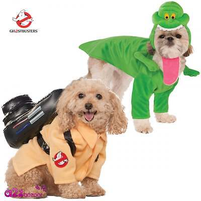 Ghostbusters Ghostbuster Slimer Pet Dog Halloween Fancy Dress Costume Outfit
