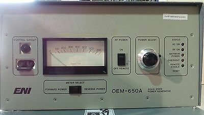 ENI OEM-650A Solid State Power Generator OEM-6A-11491-52