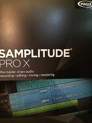Magix Samplitude Pro X Software