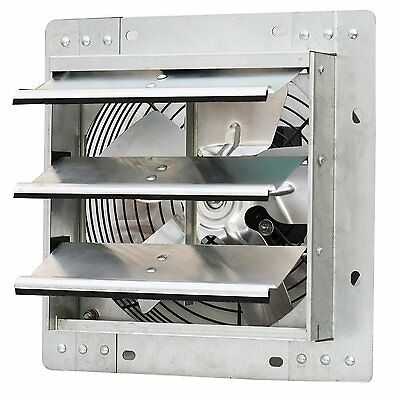 Iliving ILG8SF10V  10 Inch Variable Speed Shutter Exhaust Fan, Wall-Mounted New