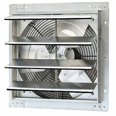 Iliving ILG8SF16V  16 Inch Variable Speed Shutter Exhaust Fan, Wall-Mounted New