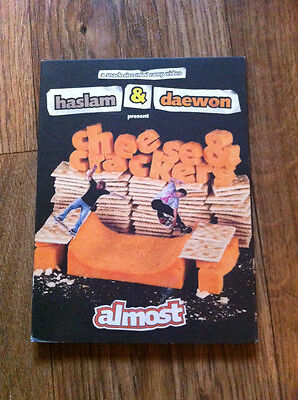 Cheese & Crackers ~ Almost Skateboard Video 2006 DVD Daewon Song & Chris Haslem