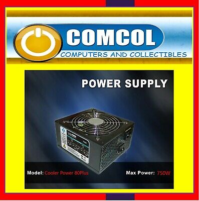 750 Watt RK Coodmax Power Supply. 12cm Fan. Very reliable PSU at a budget price