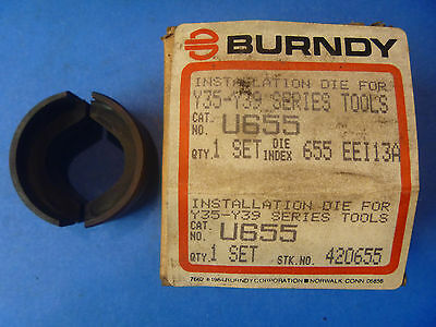 Burndy U655 EE113A Crimping Die for Y35-Y39 series tools