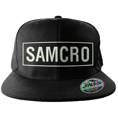 Officially Licensed Merchandise SAMCRO Embroidered Adjustable Size Snapback Cap