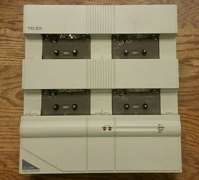Telex ACC-2000 XL Series Cassette Duplicator w/ Power Cable TESTED