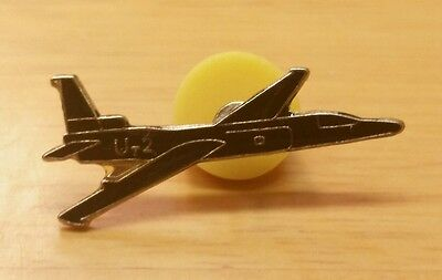 Vintage U-2 Lockheed Spy Aircraft Enamel Lapel Pin