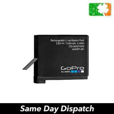 New GoPro 4 Black Silver Replacement Battery AHDBT-401 1160mAh 3.8v
