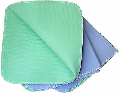 24 x 36 - Premium Incontinence Washable Polyurethane Underpad / Reusable Bed Pad
