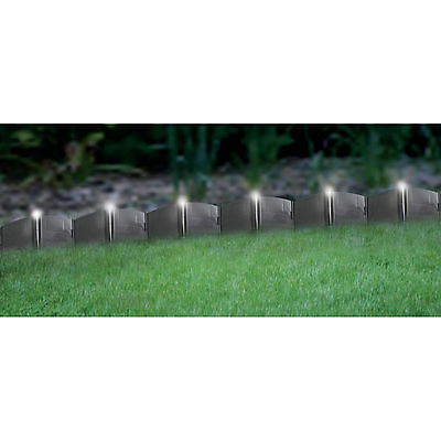 LED Solar Powered Lighted Landscape Edging - Up to 18 Feet NEW!