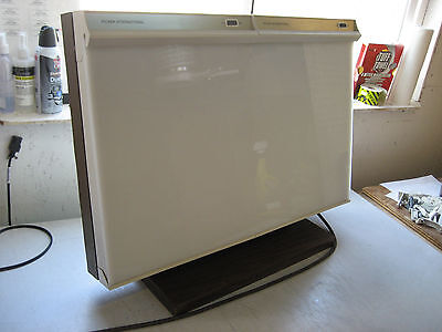 Used Picker Int'l X-ray or Slide Still Picture Projector Light Box NegativeX-ray