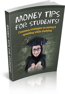 Money Tips for Students Free Shipping ebook Full Resell Right PDF