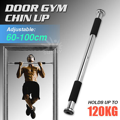 Door Gym Chin Up Portable Bar Home Door Pull Up Doorway Exercise Workout Fitness