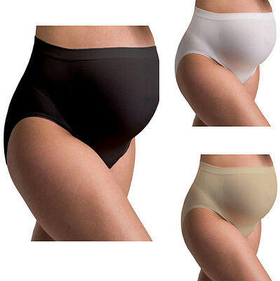 3Pcs Women Seamless Maternity Pregnancy Underwear Brief Belly Support Panty