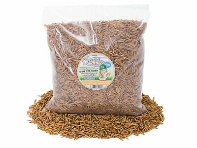 1Kg Chubby Dried Calciworms / Calci Worms Wild Birds, Fish, Reptile, Rodent Food