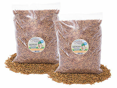 10Kg Chubby Dried Calciworms Calci Worms Wild Birds, Fish, Reptile, Rodent Food