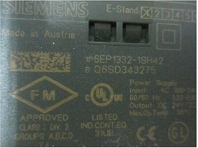 1PCS Used Siemens Power Supply Module 6EP1332-1SH42 tested