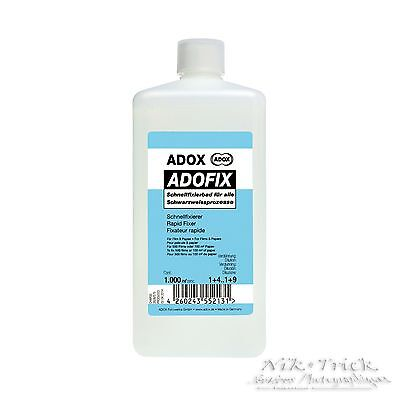 Adox Adofix Express ~ 1litre ~ Like Ilford Fix but at Half the Price!