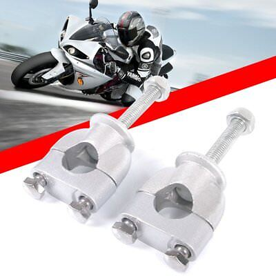 Pro Motorbike Motorcycle Handle Bar Mount Mounting Riser Clamp For 22mm 7/8'