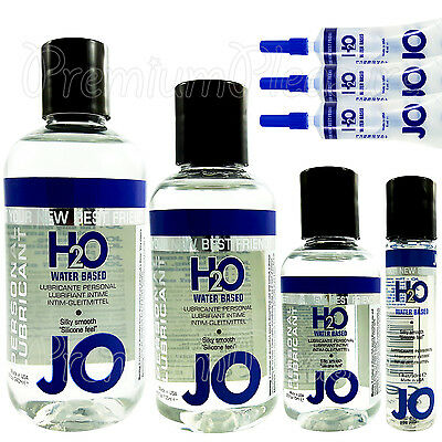 System JO H2O Waterbased lubricant *Premium sex lube* Silky & Long lasting glide