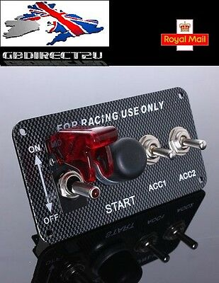 Racing Grade Push Start Button Switch Race Car Auto Ignition Engine Competition