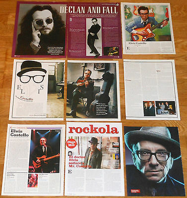 ELVIS COSTELLO clippings 1990s/10s photos magazine articles