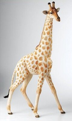 Giraffe LE: 250 St. Country Artists. Natural World. aus Polyresin. 75 cm.
