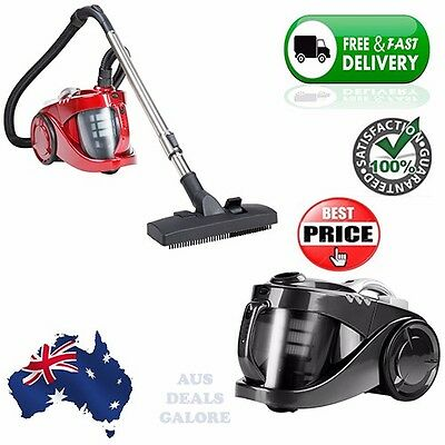 Bagless 2800w Cyclone Cyclonic Vacuum Cleaner HEPA Filteration System Carpet