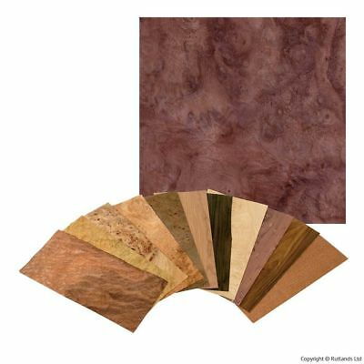 Walnut Burl Veneer Pack - 3 Square Feet