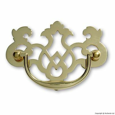 Plate Handles - Polished Brass