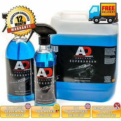 Autobrite Direct Super Sheen trim and tyre dressing 500ml dash dressing interior