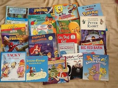 Lot FROGGY~CURIOUS GEORGE~CINDERELLA~MICKEY~MAX AND RUBY~FRANKLIN~FROGGY~PENGUIN