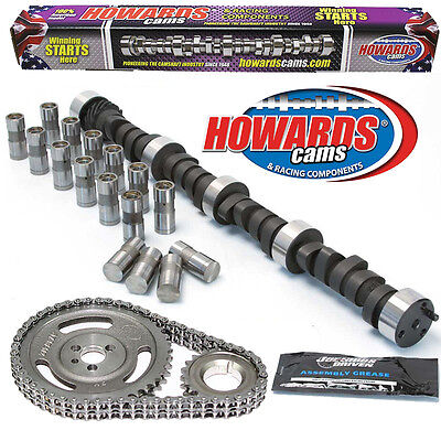 """HOWARD'S 1200-5500 RPM Chevy SBC 269/279 455""""/465"""" 110° Cam Kit with Timing Set"""