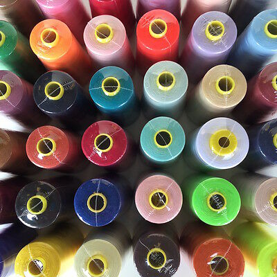 Range of Overlocker Threads 5000 Polyester 5000y x 4 REELS Great Quality 120s