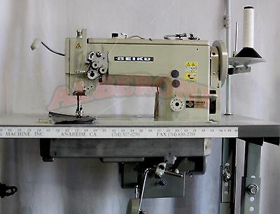 Seiko LSWN-8BL-3 Walking Foot INDUSTRIAL SEWING MACHINE Large Hook w/ Reverse