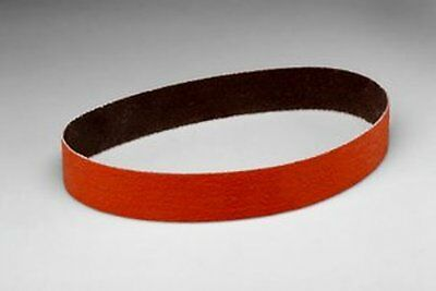 """free shipping 1/2""""X18"""" 80 GRIT 3M 777F CUBITRON FILE BELTS 80232 clearance"""