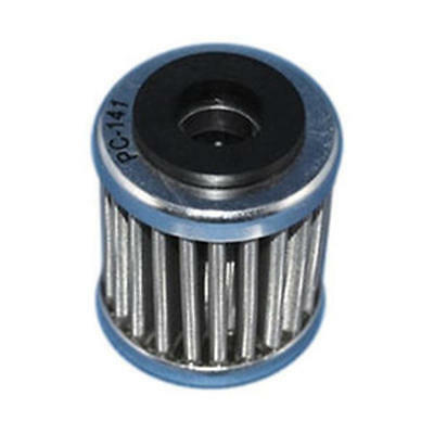 Stainless Steel Drop In Oil Filter PC Racing USA PC141 for Motorcycle Apps.
