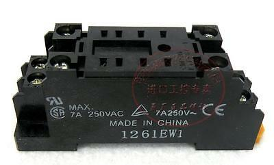 10pcs New Omron Relay Socket PYF08A-E PYF08AE 8-PIN for MY2NJ H3Y-2