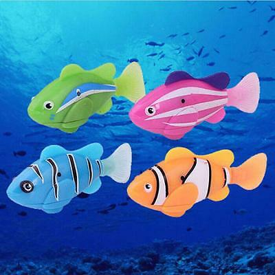 Fashion Swimming Robofish Activated Battery Powered Robo Fish Toy Fish Robotic A
