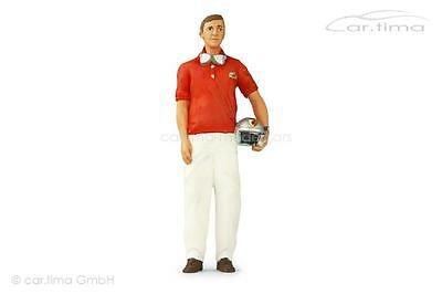 Figurine Wolfgang Graf Berghe of Trips standing - FiguTec - 1:18
